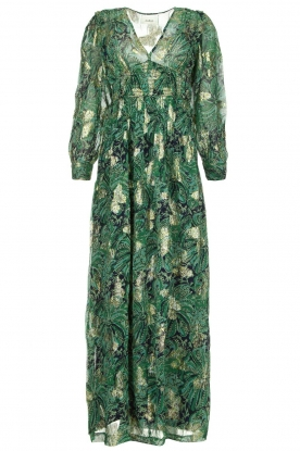 ba&sh | Floral maxi dress Quartz | green