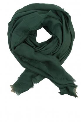 Becksöndergaard   Wollen sjaal Mill   groen