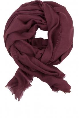 Becksöndergaard | Wollen sjaal Mill | rood