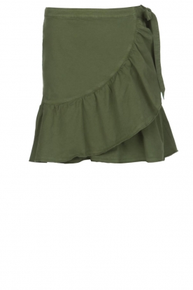 Set |  Skirt Idaia | khaki green