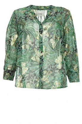 ba&sh |Print blouse Quincy