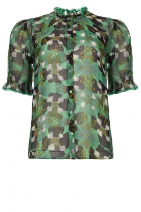 ba&sh | Floral blouse Havanna | green