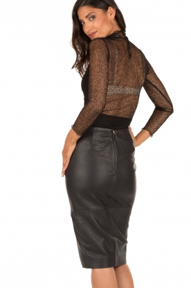 Style Butler | Kanten body Karlie | zwart