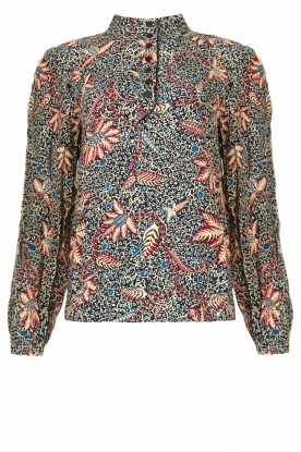 ba&sh | Floral blouse Jet | blue