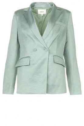 ba&sh | Satin blazer Wilie | light blue