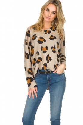 Not Shy | Cashmere sweater Leo | brown