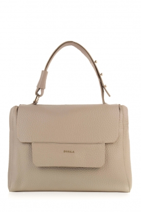 Furla |  Leather shoulderbag Carpriccio | grey