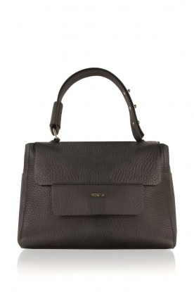 Furla |  Leather shoulderbag Carpriccio | black