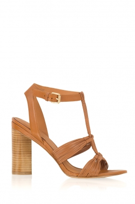 What For |  Leather sandals Heather | camel