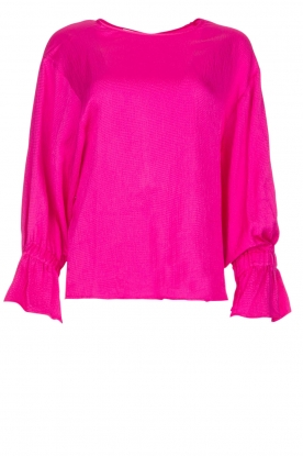 Essentiel Antwerp |  Top with playful sleeves Soul | pink