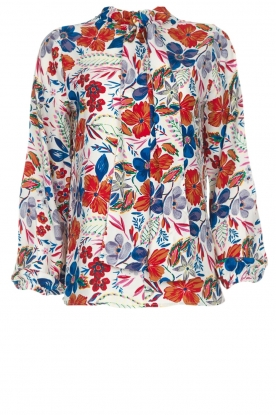 Essentiel Antwerp |  Floral top Saadiq | multi