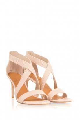What For | Leren sandalen Sean | nude
