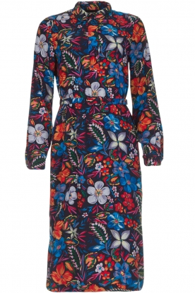 Essentiel Antwerp |  Floral dress Sabaton | blue
