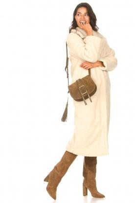 Aaiko |  Teddy coat Suella | natural