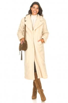 Look Teddy coat Suella