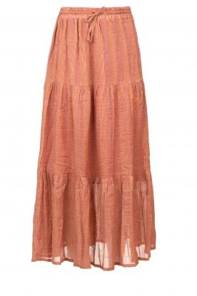 Louizon |  Maxi skirt Avibel | pink