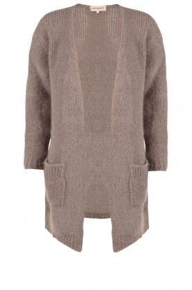 Ruby Tuesday |  Woolen cardigan Hazel | grey