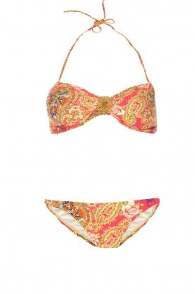 OndadeMar |  Bandeau bikini Camelia | pink