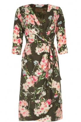 Essentiel Antwerp |  Floral dress Soulja | green