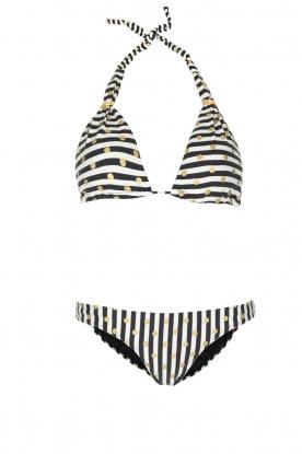OndadeMar | Bikini Amapola | zwartwit