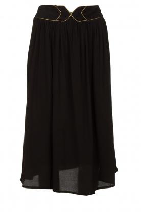 Louizon |  Midi skirt Dolan | black