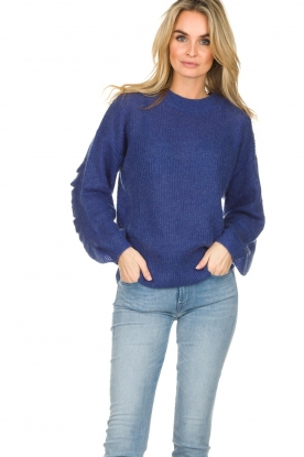 Essentiel Antwerp |  Sweater Shanghai | blue
