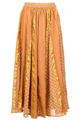 Louizon |  Maxi skirt Howler | nude