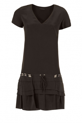 IKKS |  Silk dress Nine | black