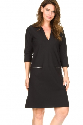 D-ETOILES CASIOPE |  Travelwear dress Vruc | black