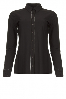 D-ETOILES CASIOPE |  Travelwear blouse Verona | black