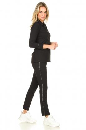 D-ETOILES CASIOPE |  Travelwear trousers Virgenie | dark blue