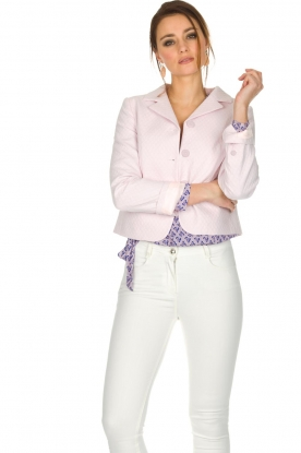Tara Jarmon |  Blazer Pisous | pink