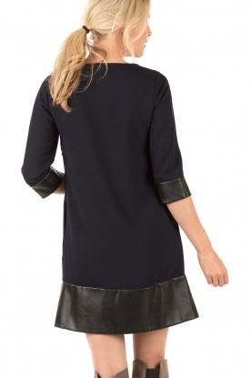 DAY Birger et Mikkelsen | A-lijn jurk Gabardine | blauw