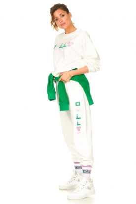 Dolly Sports | Sweatpants Team Dolly | wit
