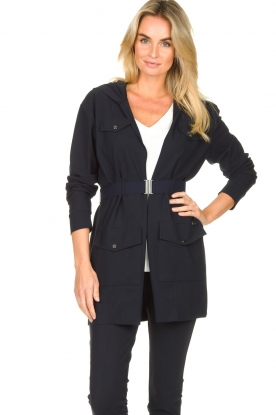 D-ETOILES CASIOPE |  Travelwear blazer Versatile | blue