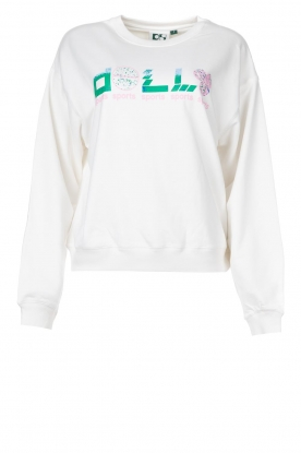 Dolly Sports |  Basic sweater Team Dolly | white