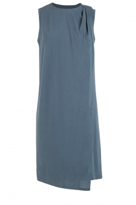 By Malene Birger | Asymmetrische jurk Junni | blauw
