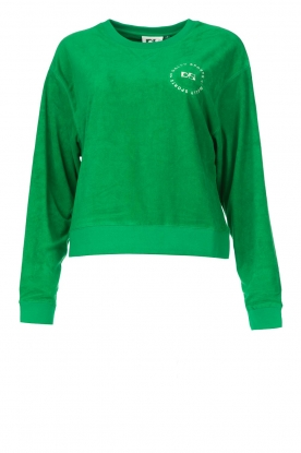 Dolly Sports |  Sweater with towel fabric Classic DS | green