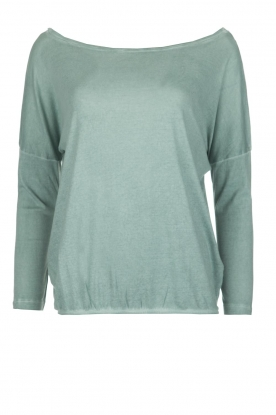 BLAUMAX |  Top Santiago | Light blue