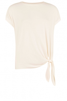 By Malene Birger | Geknoopte top Ziwian | ecru