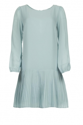 Patrizia Pepe |  Dress with pleat details Rora | blue