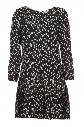 Patrizia Pepe |  Skirt with dots print Rora | black