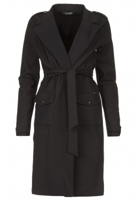 D-ETOILES CASIOPE |  Travelwear coat Vivienne | black