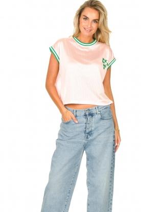 Dolly Sports |  Mesh T-shirt Martina | pink