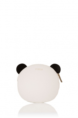 Furla | Leren coin case Allegra | wit