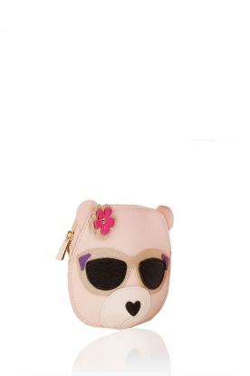 Furla | Leren coin case Allegra | roze
