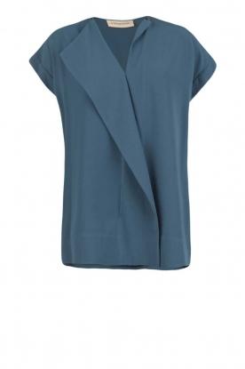 By Malene Birger | Asymmetrische top Tobson | blauw