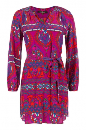 Alice & Trixie |  Silk tunic dress Whitney | purple