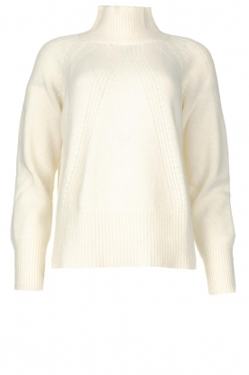 Be Pure | Rib sweater Chris | white