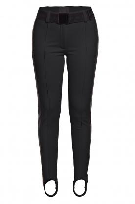 Goldbergh    Ski pants with stirrup Vintage   black